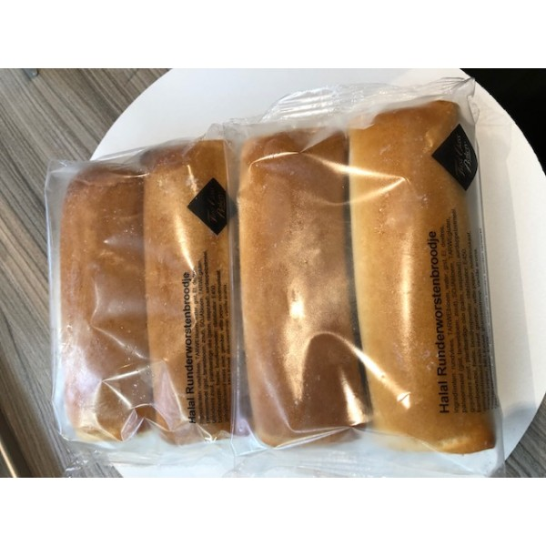 Vegetarische  Worstenbroodjes 2 stuks
