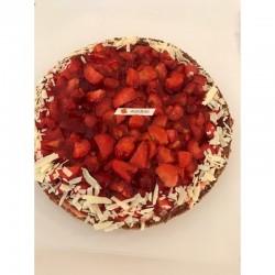 Aardbeien Vlaai Schelp