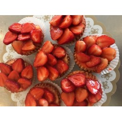 Aardbeien Schelpje