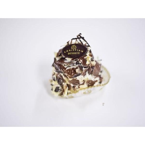 Chocolade vanille gebakje