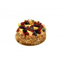 Vruchten Slagroomtaart 8-10persoons